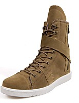 Men's Boots Novelty Snow Boots Riding Boots Fashion Boots Winter Nubuck leather Casual Party & Evening Outdoor Office & Career Lace-up