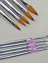 5PC Nail Nail Nail Tool Nail Carving Pen Can Fold Multi-Functional Carving Pen