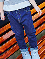 Boys' Solid Pants-Cotton Polyester Spring Fall