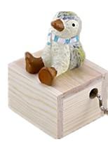 Music Box Carousel Plastics Wood