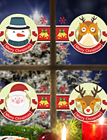 Noël Animal Vacances Stickers muraux Autocollants avion Autocollants muraux décoratifs Autocollants toilettes MatérielDécoration