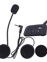 Motocicleta V3.0 Auricular y Micrófono Bluetooth Pendiente de estilo colgante Deporte al aire libre