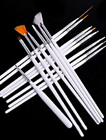 Manicure Tool 15 Sets Of Nail Painting Brush Set Nail Painting Brush Set