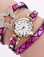 Жен. Детские Модные часы Часы-браслет Уникальный творческий часы Повседневные часы Китайский Кварцевый Защита от влаги PU Группа