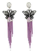 Mujer Pendientes Set Diseño Básico Cosecha Perla Artificial Brillante Joyas Para Fiesta Cumpleaños Diario Ceremonia Fiesta de Noche