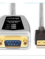 USB 2.0 Adaptador, USB 2.0 to RS485 RS422 Adaptador Macho-Macho 1.8M (6 pés)
