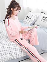 Nuisette & Culottes Vêtement de nuit Femme,Imprimé Imprimé Coton
