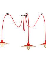 Подвесной светильник max 60w современная / современная картина для глобуса для металлической комнаты кухня кабинет / кабинет детская