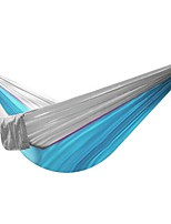HT Outdoor Parachute Cloth Hammock Super Light Hammock Camping Belt Tie Rope Folding Portable Leisure Bed