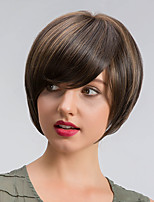 Stylish  Creative Ombre Color Short Hair Synthetic Wigs