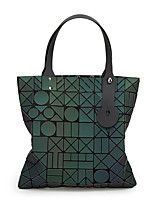 Women Bags All Seasons PU Tote with for Casual Green