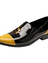 Men's Loafers & Slip-Ons Amir's New Fashion Skeleton Element Cowhide Leather  Party & Evening