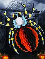 Design Is Random Halloween 3D Paper Flower Scene Spider Kindergarten Halloween pendant accessories Hanging Ornaments halloween Decoration prop