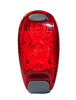 Rear Bike Light LED LED Cycling Outdoor Lighting Lights AAA Lumens Battery Red Everyday Use Cycling/Bike Outdoor