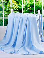 Woven Solid Bamboo/Cotton Blankets