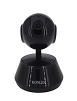 Konlen® 720p беспроводной wifi pan tilt hd ip camera 1.0mp cmos 3.6mm объектив ptz ночное видение yoosee yyp2p приложение управление onvif