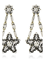 Women's Earrings Set Basic Metallic Personalized Rhinestone Alloy Jewelry For Gift Evening Party Club Street