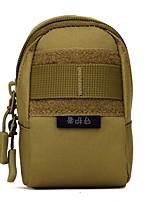 3 L Waist Bag/Waistpack Camping / Hiking Outdoor Moistureproof/Moisture Permeability Outdoor Nylon