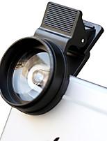 Cherllo 028 lentille de téléphone portable lentille macro externe 12.5x