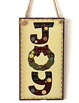 European and American wooden Christmas English letters are listed for Christmas Eve Christmas wood hanging board