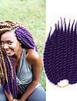 Havana mambo Twist crochet Braids synthethe Hair Extensions Kanekalon Hair Hair Braids 12-24inch 12root/pack 6-8pcs/head Senegal Twist Hair Extensions