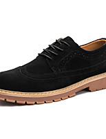 Для мужчин обувь Дерматин Осень Зима Удобная обувь Туфли на шнуровке Для прогулок Шнуровка Назначение Свадьба Повседневные Для вечеринки