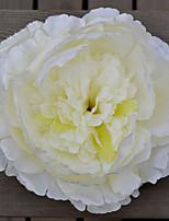 1 Rama Plástico Peonías Plantas Flor de Mesa Flores Artificiales