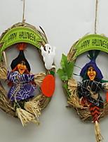 Halloween Decoration Pendant Three-Dimensional Pumpkin Paper Lanterns Props Ghost Festival Supplies Haunted House Bars Disco Hanging Ornaments