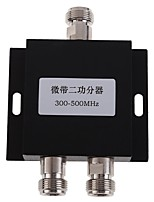 2-Way  Power Splitter 300-500MHz Signal Booster Amplifier Divider  for Mobile Phone Signal Booster Repeater