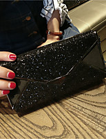 Women Bags All Seasons PU Clutch with for Casual Black