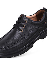 Men's Oxfords Driving Shoes Formal Shoes Comfort Fall Winter Real Leather Cowhide Nappa Leather Casual Outdoor Office & Career Party &