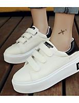 Women's Sneakers Comfort Summer Fall PU Casual Gold Black Ruby Flat