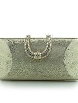 Women Evening Bag PU Spring/Fall All Seasons Wedding Event/Party Casual Formal Outdoor Office & Career Flap Buckle Metal Chain SnapCoffee