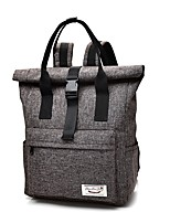 Unisex Bags All Seasons Canvas Backpack with for Sports Outdoor Climbing Cycling/Bike Fitness Brown Black Red