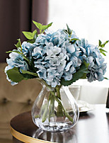 1 Branch European Style Hydrangea Artificial Flowers