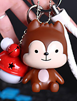 Charme-Anhänger für Taschen / Handys Klingglöckchen Karikatur Spielzeug Telefonriemen PVC