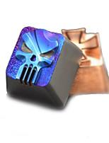 Titanio, transparente, quemando, azul, keycap, Conjunto, mecánico, teclado, superior, impreso