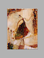 IARTS® Hand Painted Modern Abstract Girl Solo Ballet Dancing Oil Painting On Canvas with Stretched Frame Wall Art For Home Decoration Ready To Hang