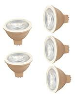 7W Faretti LED 6 SMD 3030 580 lm Bianco caldo Bianco V 5 pezzi MR16