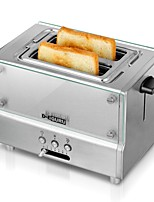 DTO103 Bread Makers Toaster Kitchen 220V Health Care Light and Convenient Timer Cute Low Noise Power light indicator Lightweight Low vibration