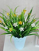 1 Филиал Пластик Лилии Pастений Букеты на стол Искусственные Цветы