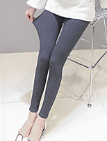 Femme Rayures Couleur Pleine Sportif Legging