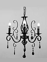 Crystal Lamp 3 Heads Modern Simple Living Room  Bedroom Novelty Lightings