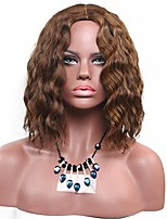 Medium Light Brown Jerry Curly Wig for Women Costume Cosplay Synthetic Wigs