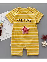 Baby Stripe One-Pieces,Cotton Summer Sleeveless