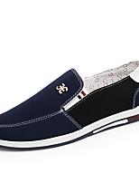 Для мужчин Мокасины и Свитер Для прогулок Эспадрильи Светодиодные подошвы Обувь для дайвинга Удобная обувь Полотно Лето Осень Повседневные