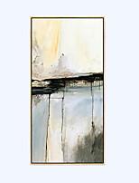 абстракция Масляная картина в раме Предметы искусства,Дерево материал с рамкой For Украшение дома Предметы искусства в рамкахГостиная