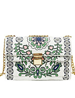 Women Bags All Seasons PU Shoulder Bag with for Casual White