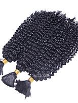 Пучок волос Бразильские волосы Kinky Curly 12 месяцев 1 шт. волосы ткет кг Пряди с быстрым креплением