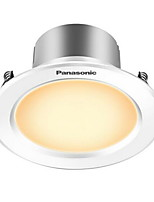Panasonic® 1Pcs 3W Led Downlight Celing Light Warm White AC220V Size Hole 80mm 180LM 3000K
